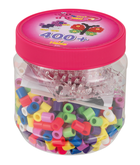 Hama Maxi Beads Tub 400 pcs Pink lid