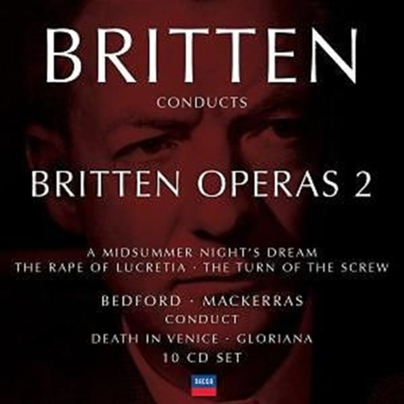 Britten Conducts Britten Operas Vol. 2 [
