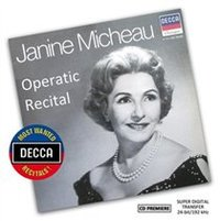 Janine Micheau: Operatic Recital