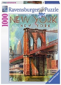 Puslespill 1000 New York retro