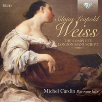 Silvius Leopold Weiss: The Complete Lond