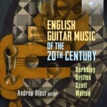 Andrea Dieci: English Guitar Music of th