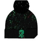 Lue Minecraft creeper splatter svart