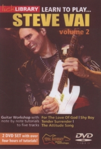 Learn to Play Steve Vai: Volume 2