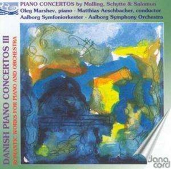 Danish Piano Concertos Vol. 3 (Aeschbach