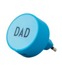 USB-lader Design Letters My Charger Dad