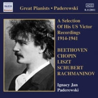 Paderewski: A Selection of His US Victor
