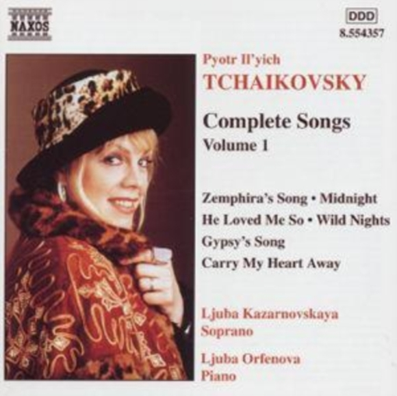 TCHAIKOVSKY/COMPLETE SONGS - VOLUME 1 -