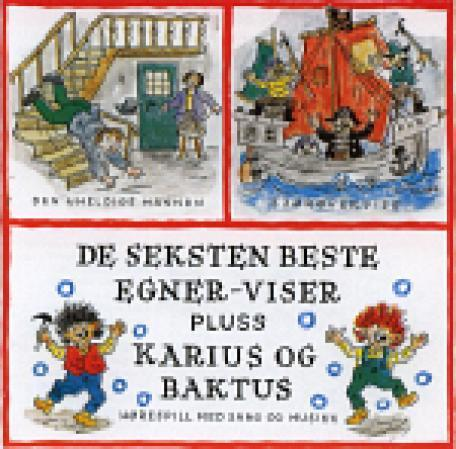 Seksten beste + Karius og Baktus, CD (Th