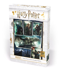 Puslespill 1000 Harry Potter: the Deathly Hallows