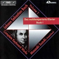 J.s.bach/well Tempered Clavier Book 1