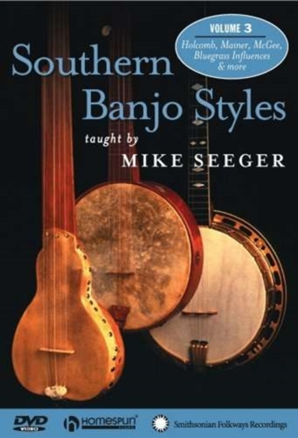 Mike Seeger Southern Banjo Styles Volume