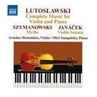 Lutoslawski: Complete Music for Violin a