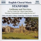 Anthems and Services (Robinson, Choir of