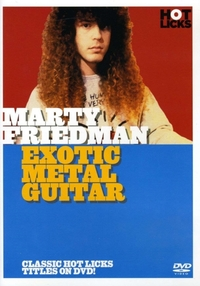 Marty Friedman Exotic Metal Guitar Gtr D