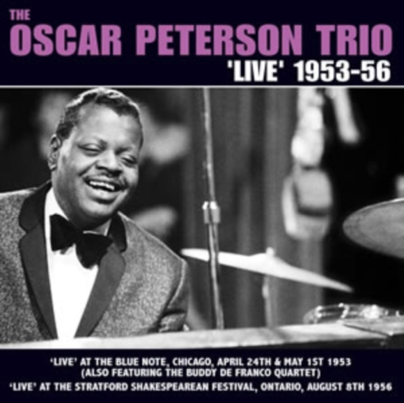 The Oscar Peterson Trio 'Live' 1953-56