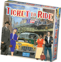 Ticket To Ride New York Nordic: familiespill