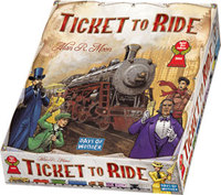 Ticket to Ride USA: familiespill