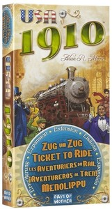 Ticket to Ride 1910: familiespill