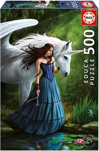 Puslespill 500 Enchanted Pool: Anne Stokes