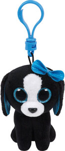 Bamse Ty Tracey black/white dog clip