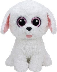 Bamse Ty pippie dog white medium