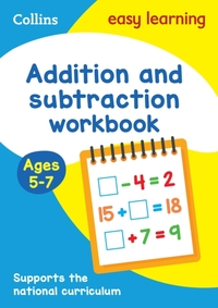 Addition and Subtraction Workbook Ages 5