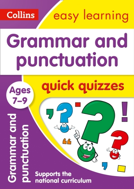 Grammar & Punctuation Quick Quizzes Ages