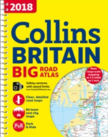 2018 Collins Big Road Atlas Britain