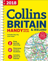 2018 Collins Handy Road Atlas Britain