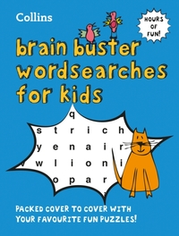 Collins Brain Buster Wordsearches for Ki
