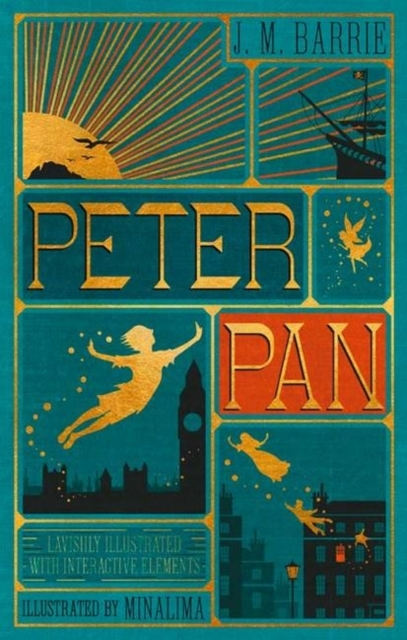 Peter Pan (Illustrated with Interactive