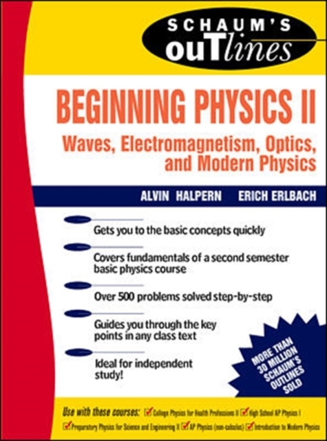 Schaum's Outline of Beginning Physics II