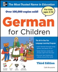 German for Children with Two Audio CDs,