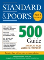Standard and Poors 500 Guide 2013