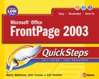 Microsoft Office FrontPage 2003 QuickSte