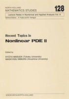 Recent Topics in Nonlinear PDE II