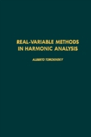 Real-variable methods in harmonic analys