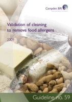 Validation of cleaning to remove food al