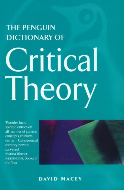 The Penguin Dictionary of Critical Theor