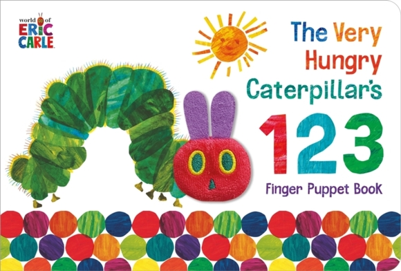 The Very Hungry Caterpillar Finger Puppe
