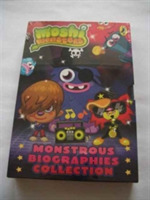 MOSHI MONSTERS MONSTROUS BIOGRAPHIES COL