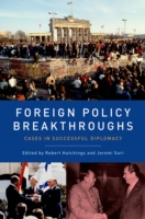 Foreign Policy Breakthroughs: Cases in S