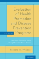 Evaluation of Health Promotion and Disea