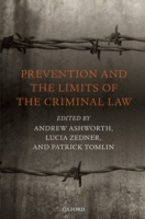 Prevention and the Limits of the Crimina