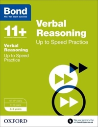Bond 11+: Verbal Reasoning: Up to Speed