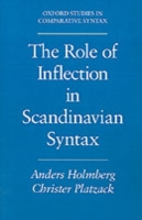 Role of Inflection in Scandinavian Synta