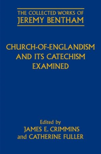 Church-of-Englandism and its Catechism E