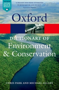 A Dictionary of Environment and Conserva