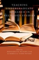 Teaching Undergraduate Research in Relig